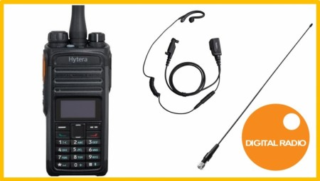 HYTERA PD485 ANALOG / DIGITAL JAKTPAKKE
