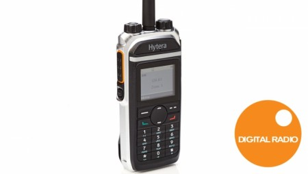 Hytera digital jaktradio